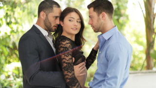 Seth Gamble,Damon Dice,Adria Rae - Adria fulfills her fantasy of being fucked by two men