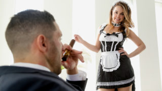 Dillion Harper,Damon Dice - Dillion Harper is a naughty little maid eager to please boss