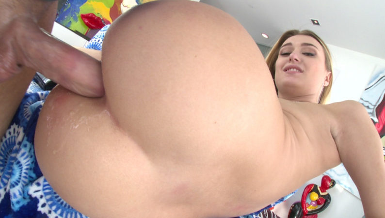 Blonde Natalia Sodomized To Gaping