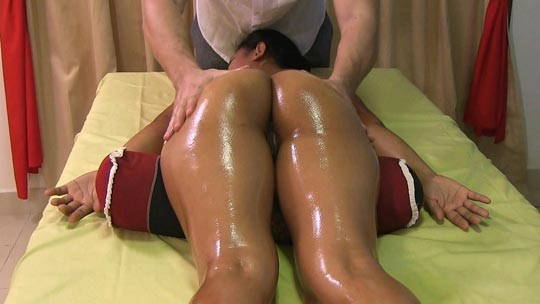 Hot and Sexy Nanai visits a local spa with a male massage therapist and gets more than a massage