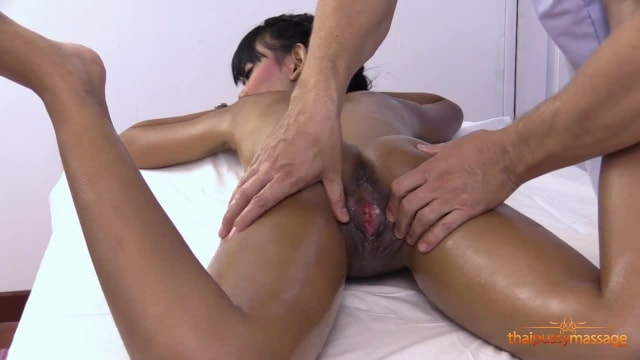 Tansanee gets one special treatment at the massage salon: she is strongly aroused and screwed by the masseur