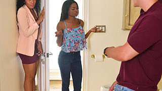 Mya Mays and Jasmyne De Leon - Mother's Interracial Interaction