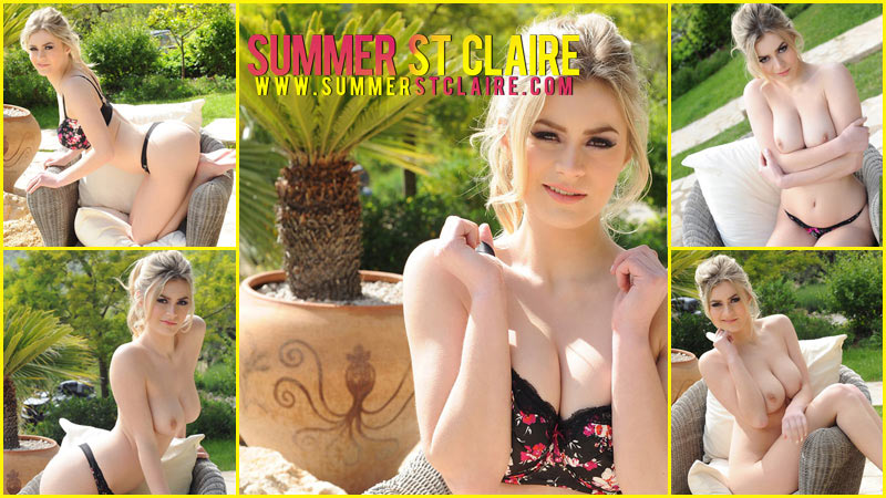 Summer St Claire - Summer St Claire Strips Outdoors
