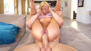 Lubed: Kenzie Reeves - Tiny Kenzie Pounded Hard