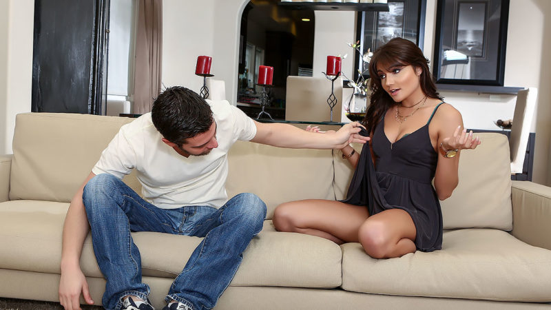 Adria Rae is Craving Some Sexual Attention and Receives It